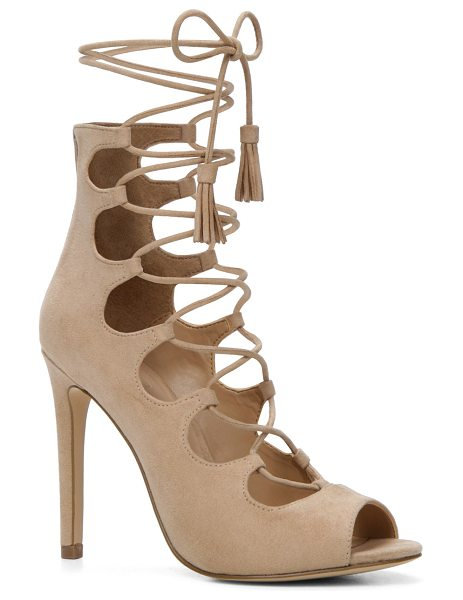 ALDO Sergioa in bone - Ghillies made gorgeous courtesy of sky-high heel...