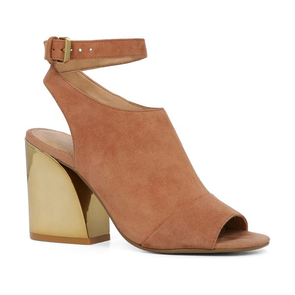 ALDO Seventy - Part bootie, part ankle strap, this open-toe sandal with...
