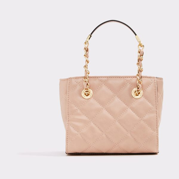 ALDO Shanes in light pink - Luminous gold hardware and posh quilting combine for a...