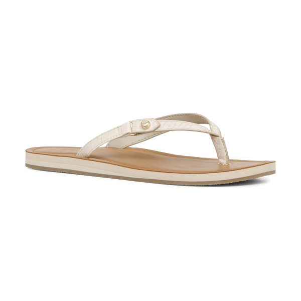 ALDO Sheet in ice - This vacation-inspired sandal demands an ocean view. -...