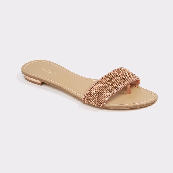 ALDO Soffia in metallic - Stylish in seconds flat. Maximize the minimalist look in...
