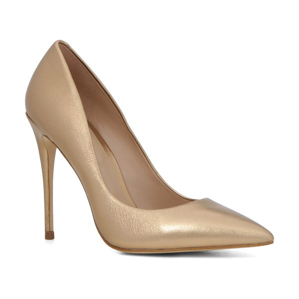 ALDO Stessy in gold - Our most-popular pump is glamorous, sexy and...