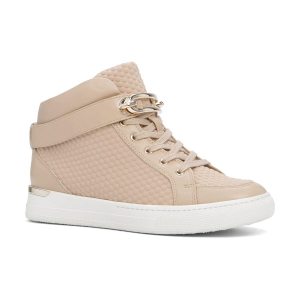 ALDO Storo in bone - Lace up a futuristic pair and go full athletic-chic....