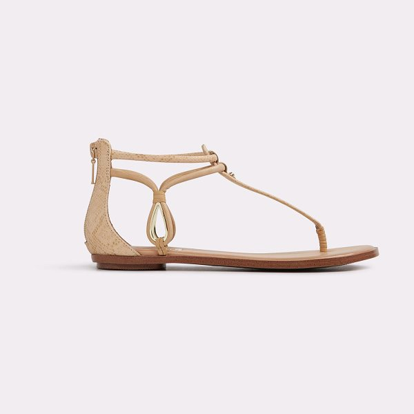 ALDO Surie - Minimalism at its best: a simple t-strap flat sandal...