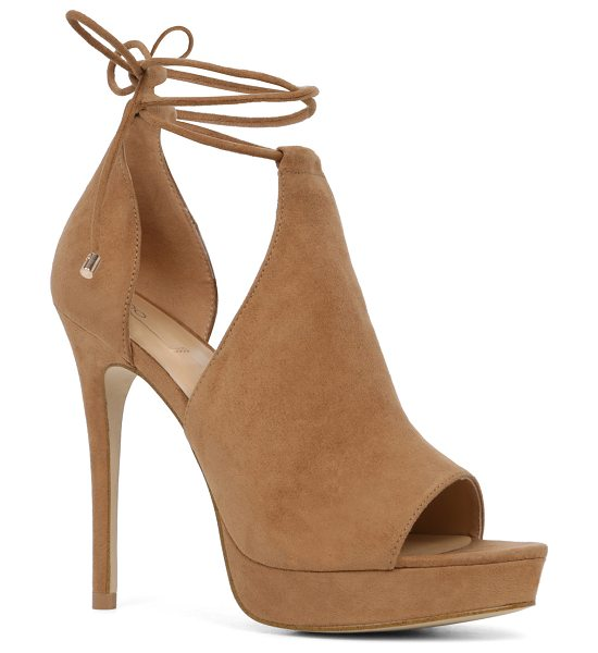 ALDO Tilley in cognac - A triple threat with sleek cutouts, a towering heel and...