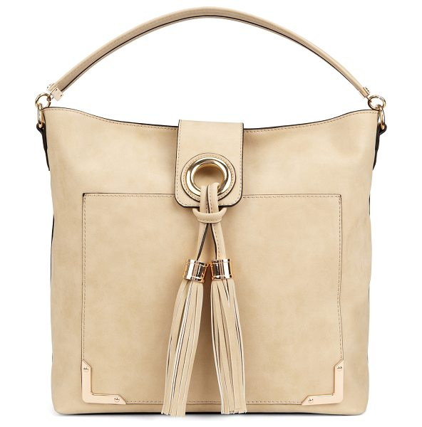 ALDO Tippey shoulder bag in white/cream - This oversized hobo bag is perfect for carrying all your...