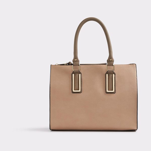 ALDO Trenchard in natural - Gold hardware and glittering body, this tote is graceful...