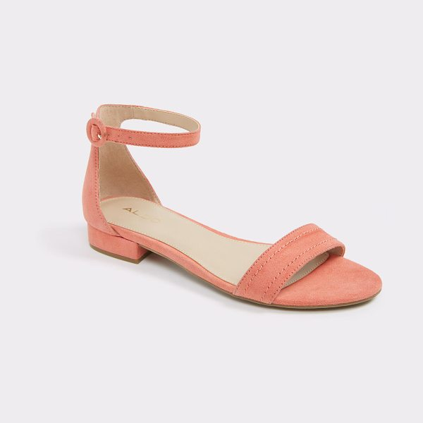 ALDO Trigode in peach - An of-the-moment minimalist sandal compliments any look...