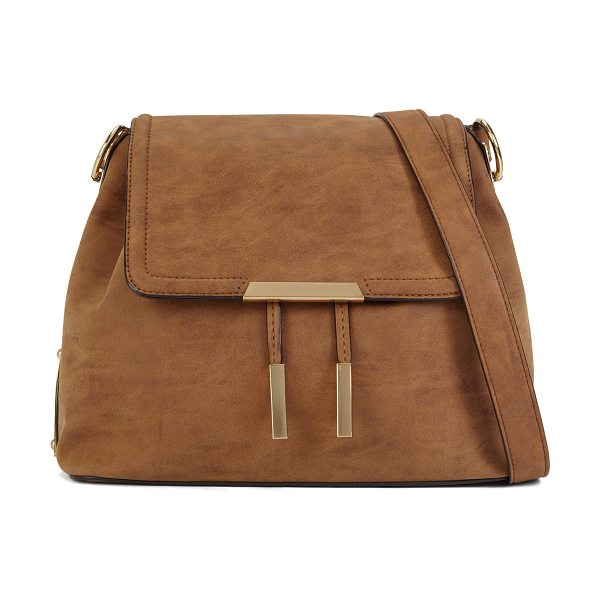 ALDO Ulaodien in cognac - Classic form takes on new detail with this versatile...