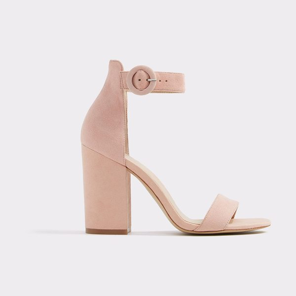 ALDO Umaewen in pink - A classic summer essential, our bare all block heel...