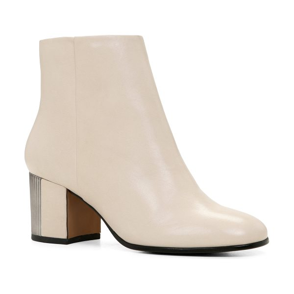ALDO Umalen boots in bone - These ankle booties feature a very modern square heel...