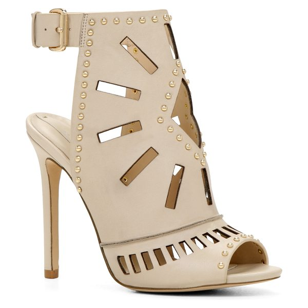 ALDO Uneasien in bone - These oh-so unique ankle-wrap pumps will definitely make...