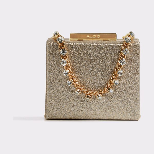 ALDO Unerrade in gold - What we mean by jewelry box- this sparkle covered...