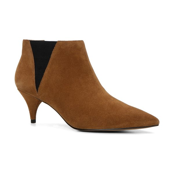 ALDO Vallucci in light brown - A kitten heel glams up a Chelsea boot for just the right...