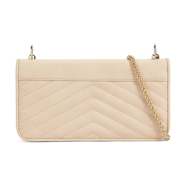 ALDO Valsecca - Lush detail goes lightweight with this quilted wallet,...