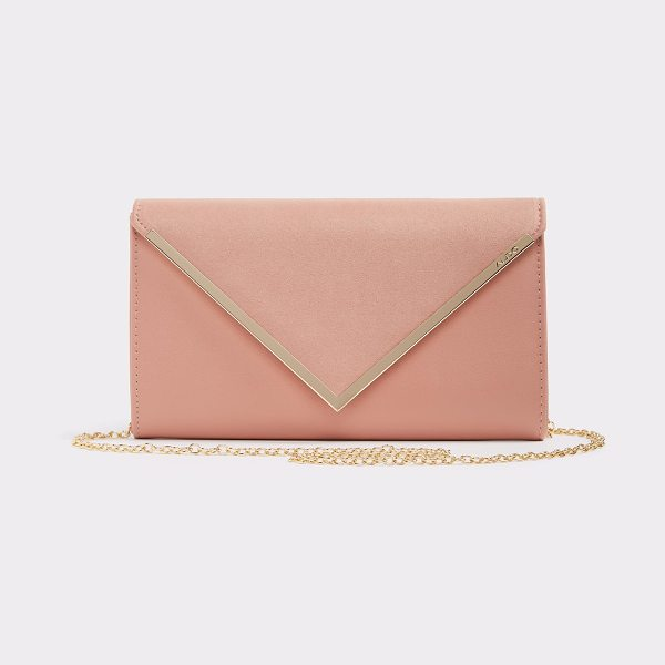 ALDO Varinaa in pink - This classy clutch is a perfect pair for that formal...