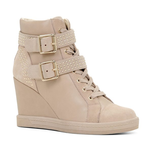 ALDO Verratti in bone - These uniquely-detailed wedge sneakers are as hot as can...