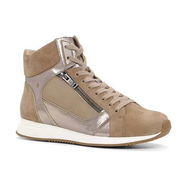 ALDO Wasula in taupe - Elevate your shoe game with these fly high-top sneakers....