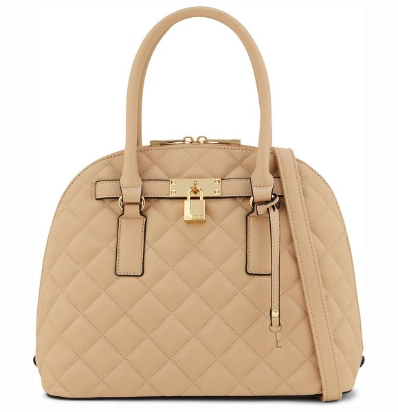 ALDO Watervalley tote in beige/taupe - Get all-day style and refinement with this quilted...