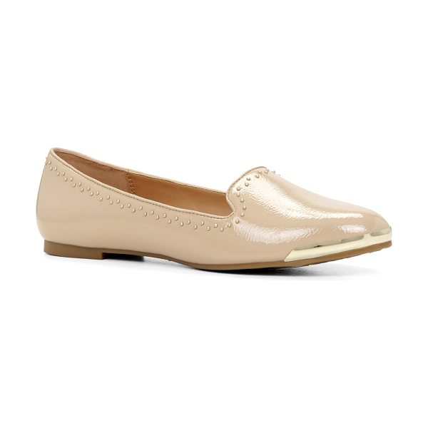 ALDO Waverley flats in bone - These futuristic loafers are definitely worth swapping...