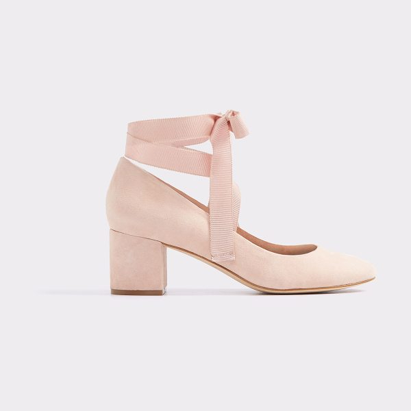 ALDO Wunderly in light pink - We fused the femininity of a ribbon-topped ballet shoe...
