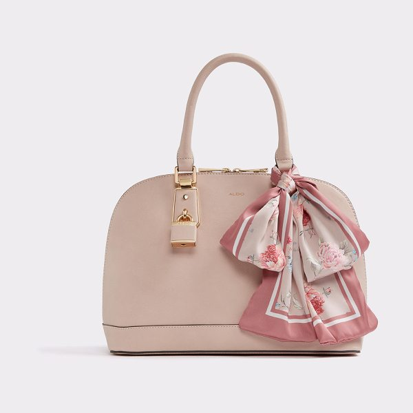 ALDO Yilari in light pink - The perfect top-handle satchel blooms with a gorgeous...