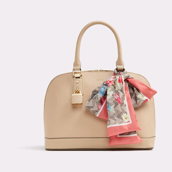 ALDO Yilari in natural - The perfect top-handle satchel blooms with a gorgeous...