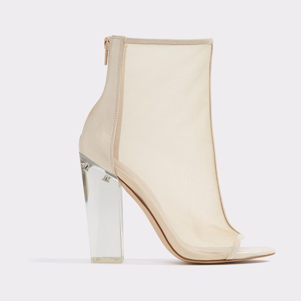 ALDO Yoania in bone - A modern shootie proves it's not mesh-ing around with a...