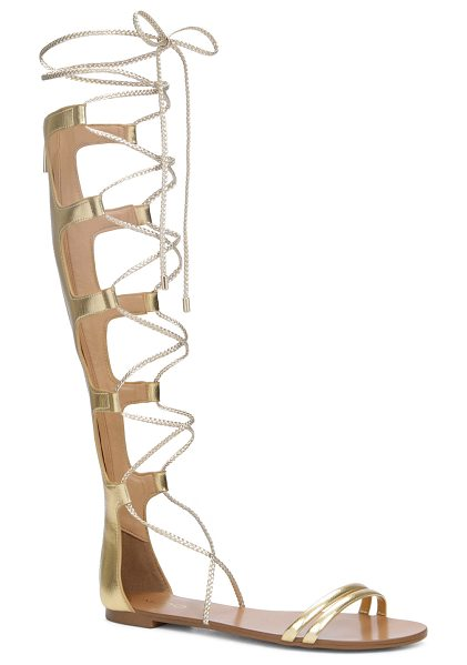 ALDO Zavalza in gold - Make a tall statement while embracing your feminine side...