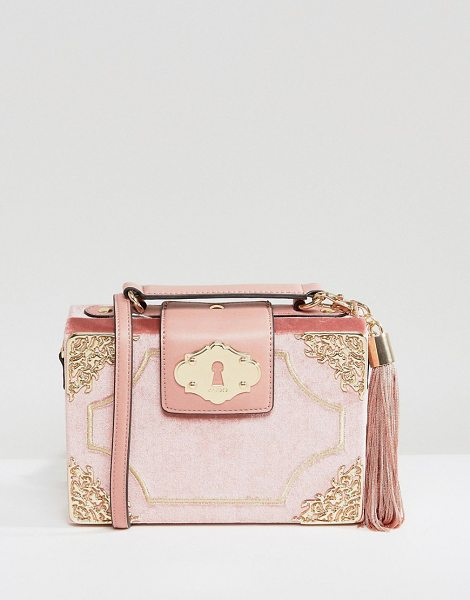 "ALDO Zosimo Blush Mini Cross Body Bag - """"Cart by ALDO, Soft-touch fabric outer, Fully lined,..."