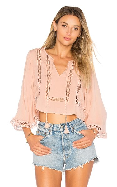ALE BY ALESSANDRA x REVOLVE Ferrera Blouse - Breaking away from that city professional life with the...