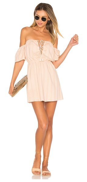 "ale by alessandra x REVOLVE Gabriela Mini Dress in blush - ""Blushing over the details. The soft, lightweight..."