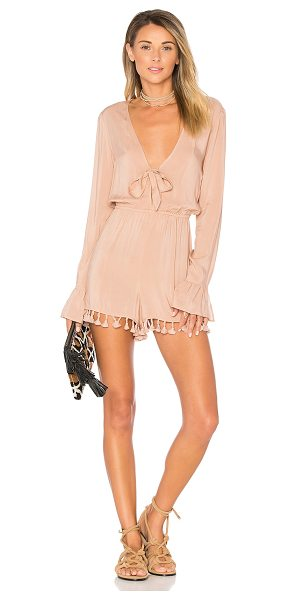 "ale by alessandra x REVOLVE Livia Romper in nude - ""Remind them that the beauty is in the details. Ale by..."
