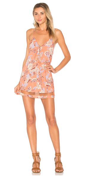 ale by alessandra x REVOLVE Lucia Dress in coral - Self & Lining: 100% rayon. Hand wash cold. Fully lined....
