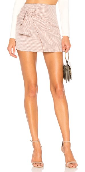 "ale by alessandra x REVOLVE Acacia Skirt in mauve - ""Self: 100% polyLining: 100% cotton. Hand wash cold...."