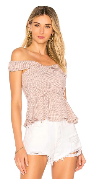 ale by alessandra x REVOLVE Caridad Top in mauve - Self: 100% polyLining: 100% cotton. Hand wash cold....