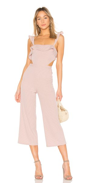 ale by alessandra x revolve denia jumpsuit in mauve