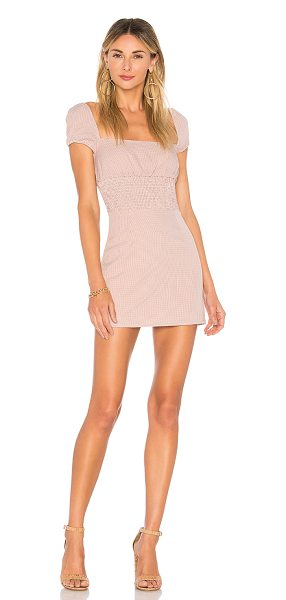 ale by alessandra x REVOLVE Flora Dress in mauve - Self: 100% polyLining: 100% cotton. Hand wash cold....