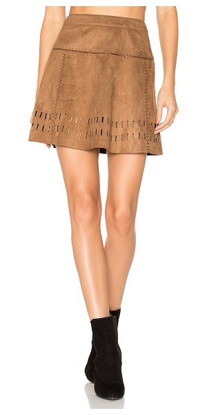 "ale by alessandra x REVOLVE Mayte Skirt in brown - ""Good vibes only. Ale by alessandra x REVOLVE's Matye..."