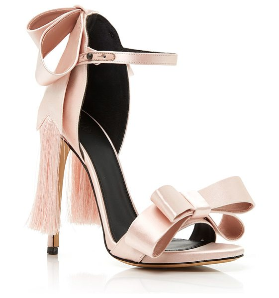 ALEKSANDER SIRADEKIAN Pink Adriana Sandal in light pink - These *Aleksander Siradekian* sandals emphasize the...