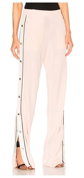 Alessandra Rich Tracksuit Pants in pink