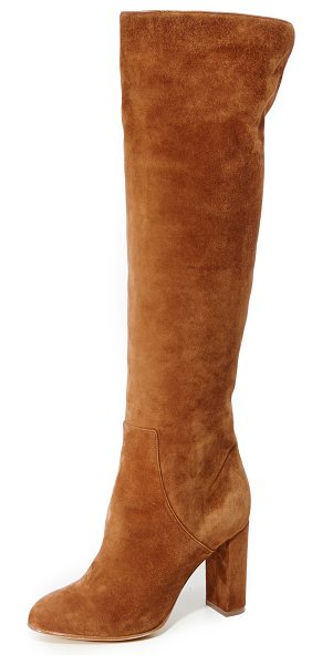 Alexa Wagner Theresa Suede Boots in paris texas/tobacco