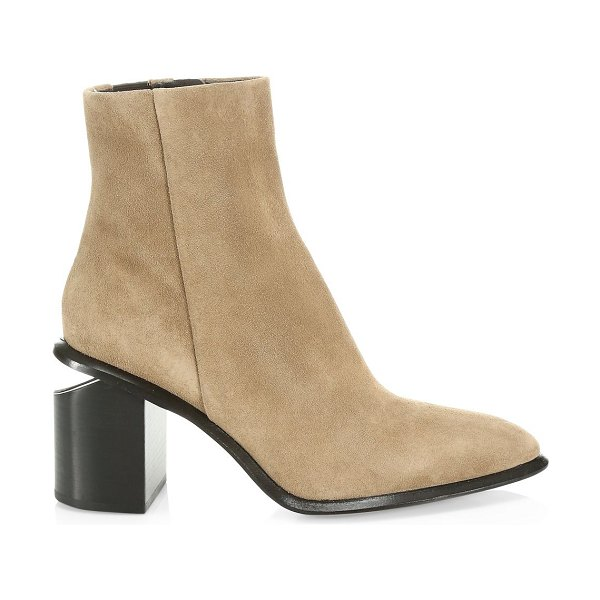 Alexander Wang anna suede ankle boots in sand