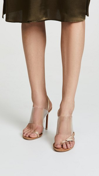 Alexander Wang kaia high heel sandals in nude