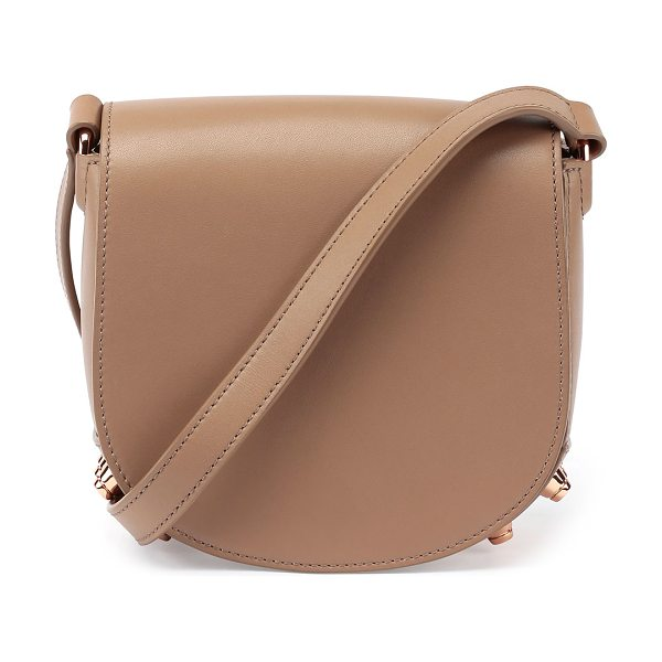 ALEXANDER WANG Lia Mini Leather Saddle Bag - Alexander Wang smooth leather saddle bag. Rose gold...