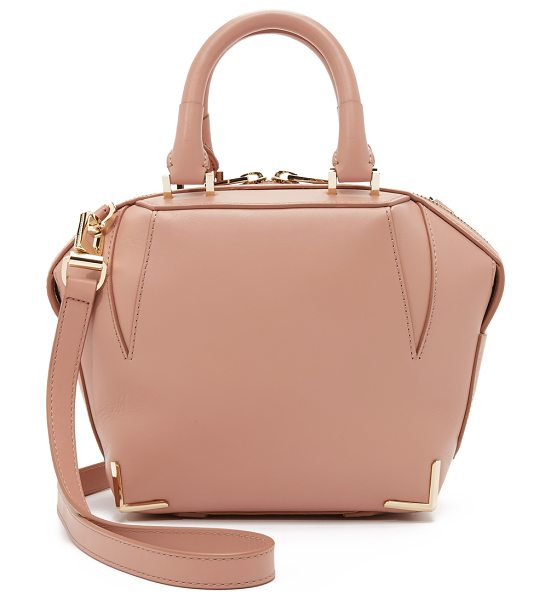 Alexander Wang Mini emile tote in blush - A structured, sculptural leather Alexander Wang handbag....