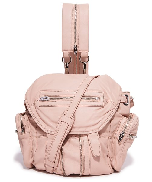 Alexander Wang mini marti backpack in pale pink - A petite version of the Alexander Wang Marti backpack,...