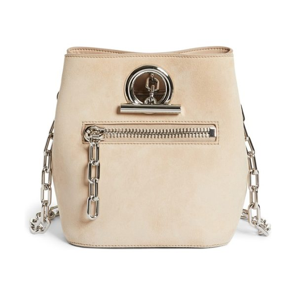 ALEXANDER WANG riot suede crossbody bag - Tough street style and buttery-soft suede meet on a...