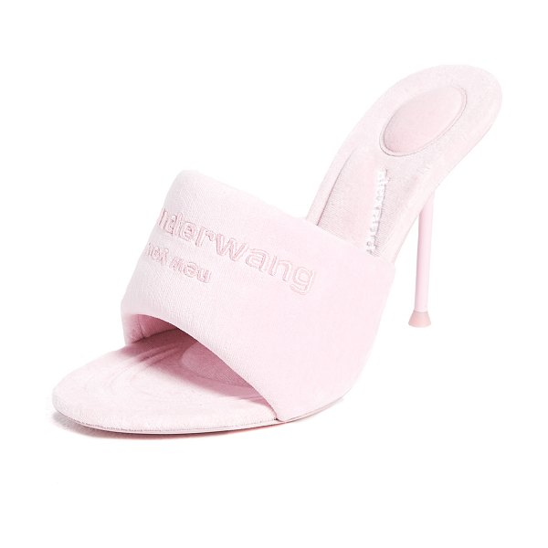 Alexander Wang sienna mule sandals in candy