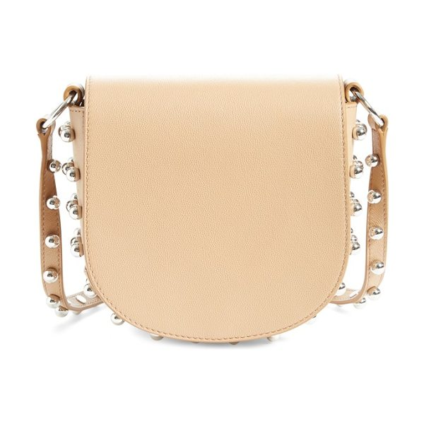 Alexander Wang 'small lia' leather crossbody bag in light nude